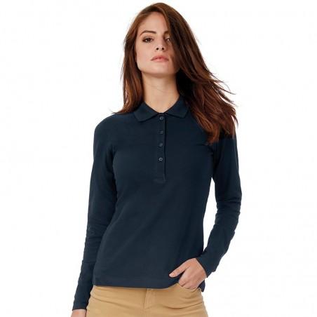 Women's Long Sleeve Polo