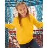 foto de niña con sudadera amarilla para personalizar en marcate.net