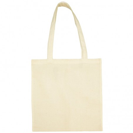 Photo of natural color Tote bag to personalize at marcate.net