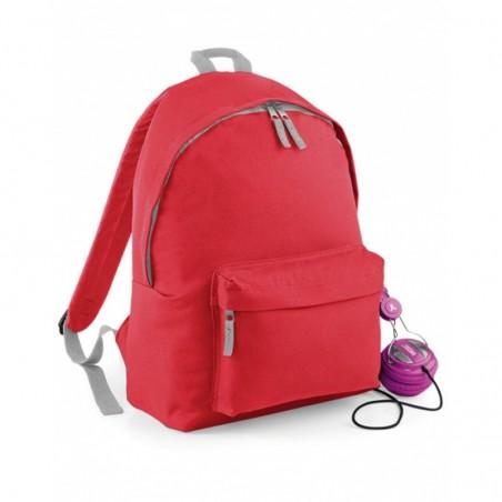 foto de mochila roja de calidad para personalizar en marcate.net