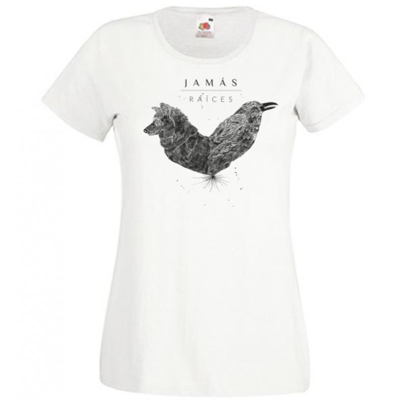 Camiseta de chica Raíces