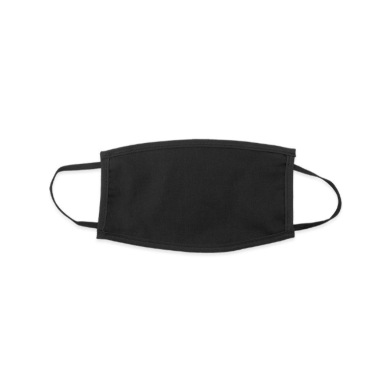 Black face mask to customize