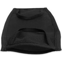 Imagen del bolsillo de la mascarilla para meter el filtro una vez personalizada