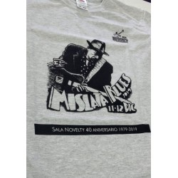 custom silk-screen printed t-shirt mislata blues sala novelty
