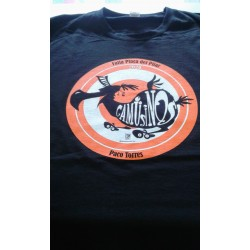 camiseta personalizada serigrafia dos colores falla del pilar gamusinos 2020