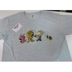 """foto camiseta premium hombre impresion directa a todo color """"los inconscientes"""""""