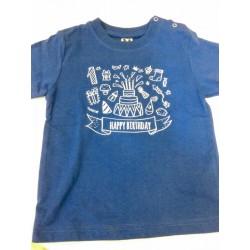 camiseta bebe personalizada impresion directa happy birthday Marcate.net