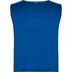 Photo of royal blue sports bib to personalize on marcate.net