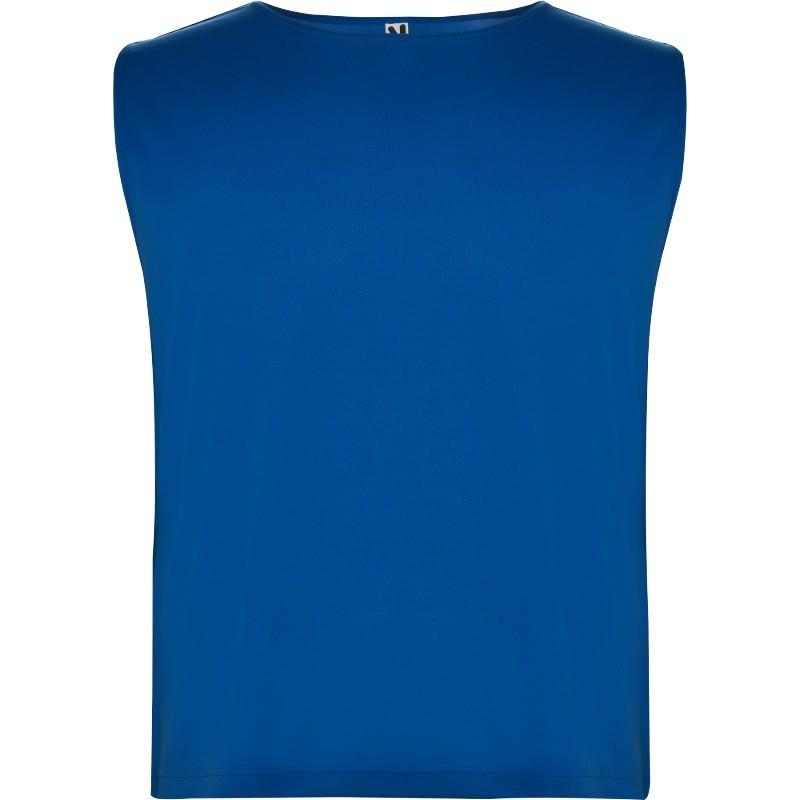 Foto de peto azul royal de deporte para personalizar en marcate.net
