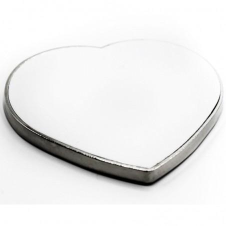 Metal Heart Magnet