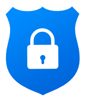 Secure payment logo at marcate.net