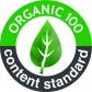 The Organic Content Standard 100 (OCS 100) verifies the presence of organic material in the product and traces the path of the raw material from its origin to the finished product.