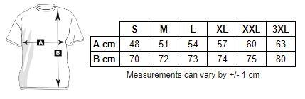 Men's Short Sleeve Sport Shirt Measure
