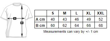 Measurements Woman Soft Touch T-shirt