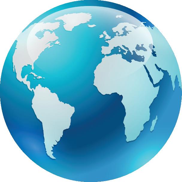 Bola del mundo azul envios marcate.net